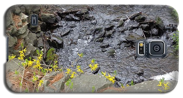 Galaxy S5 Case featuring the photograph Springtime Creek by Christina Verdgeline