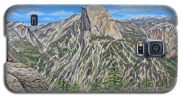 Springtime In Yosemite Valley Galaxy S5 Case