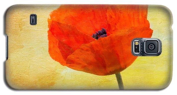 Springtime Poppy Beauty Galaxy S5 Case