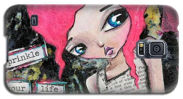 Sprinkle With Art Galaxy S5 Case by Lizzy Love of Oddball Art Co
