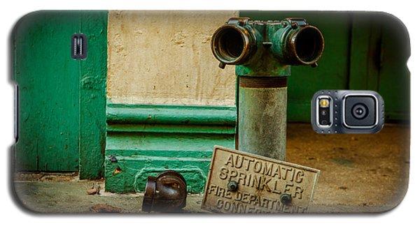 Sprinkler Green Galaxy S5 Case by Melinda Ledsome