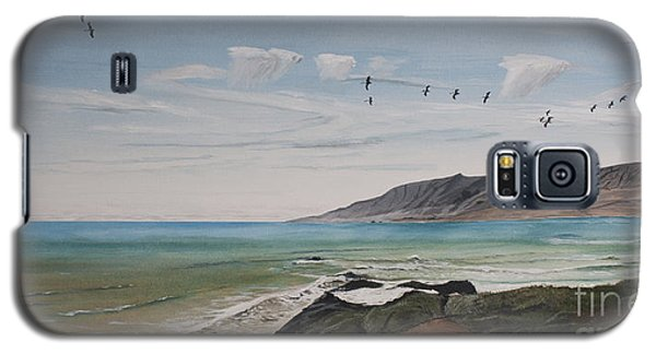 Squadron Of Pelicans Central Califonia Galaxy S5 Case