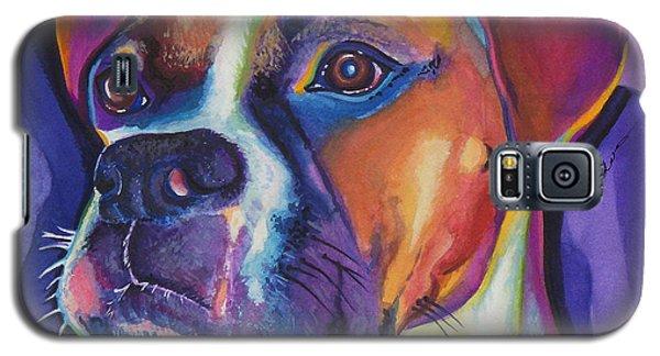 Square Boxer Portrait Galaxy S5 Case
