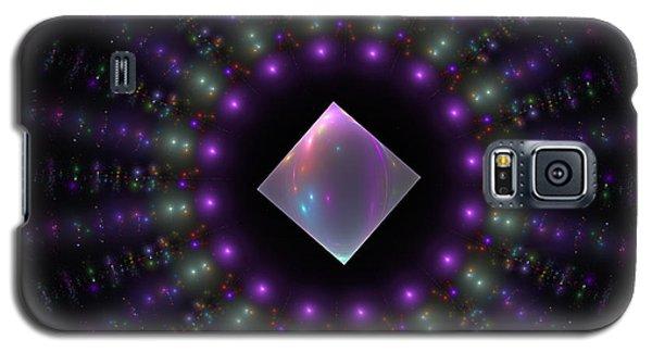 Square Peg Round Hole Galaxy S5 Case by GJ Blackman
