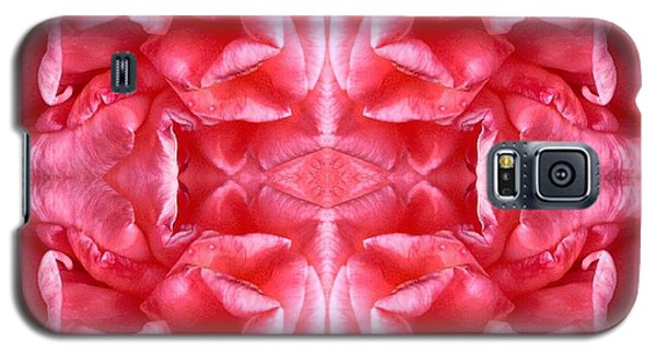 Galaxy S5 Case featuring the photograph Square Petals Abstract Art Photo by Marianne Dow