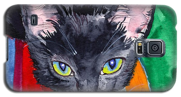 Squeak The Wonder Cat Galaxy S5 Case