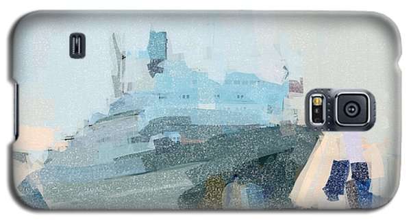 Galaxy S5 Case featuring the painting Ss Rotterdam by Nop Briex