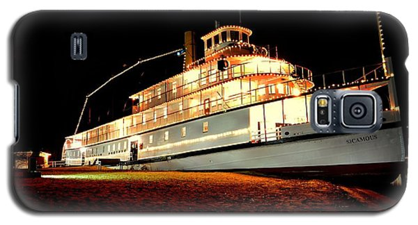Ss Sicamous Frontview 1/21/2014  Galaxy S5 Case by Guy Hoffman