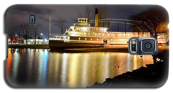 Ss Sicamous Steam Ship 1/21/2014  Galaxy S5 Case by Guy Hoffman