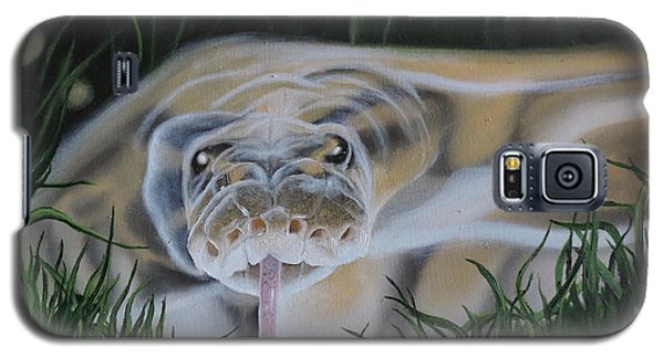 Galaxy S5 Case featuring the painting Ssssmantha by Dianna Lewis