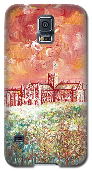 St Albans Abbey - Stormy Weather Galaxy S5 Case by Giovanni Caputo