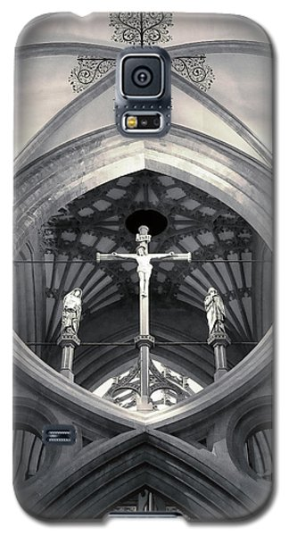 St Andrews Cross Scissor Arches Of Wells Cathedral  Galaxy S5 Case