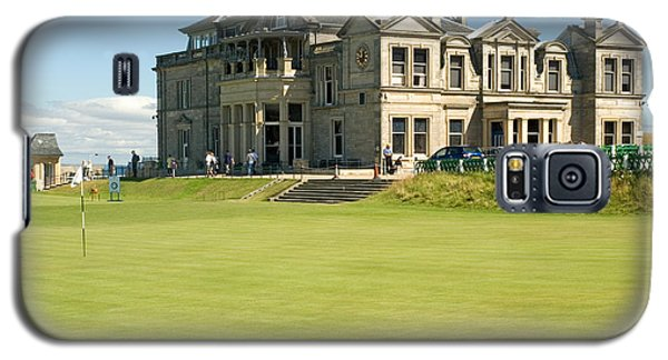 St Andrews Final Green And Clubhouse  Galaxy S5 Case
