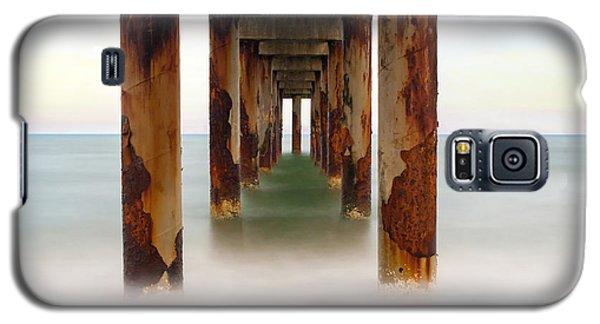 St. Augustine Beach Pier Galaxy S5 Case