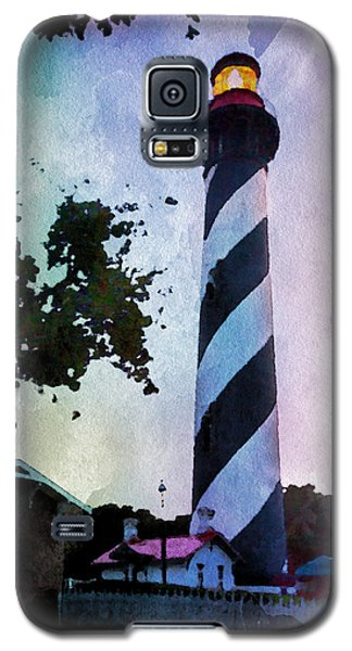 St. Augustine Lighthouse Sunset Galaxy S5 Case