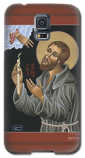 Galaxy S5 Case featuring the painting St. Benedict Joseph Labre 062 by William Hart McNichols