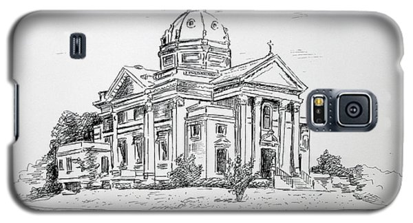 St Catherines Spring Lake Nj Galaxy S5 Case by Melinda Saminski