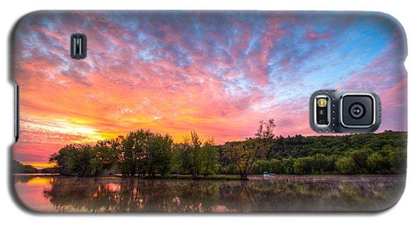 St. Croix River At Dawn Galaxy S5 Case