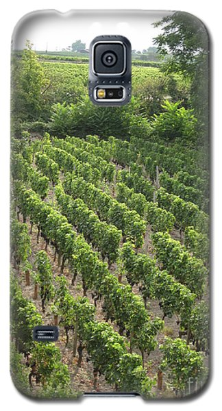 Galaxy S5 Case featuring the photograph St. Emilion Vineyard by HEVi FineArt