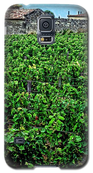 Galaxy S5 Case featuring the photograph St. Emilion Winery by Joan  Minchak