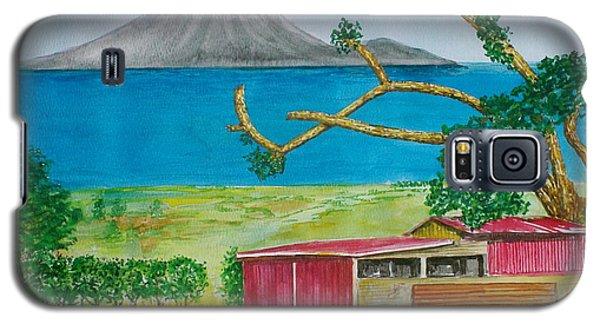 St. Eustatis From St. Kitts Galaxy S5 Case