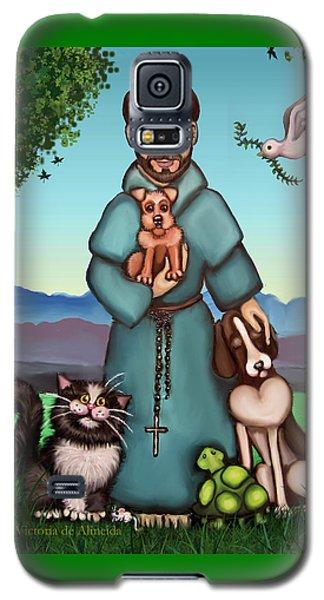 St. Francis Libertys Blessing Galaxy S5 Case by Victoria De Almeida