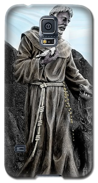St Francis Of Assisi On Isabela In The Galapagos Galaxy S5 Case by Al Bourassa