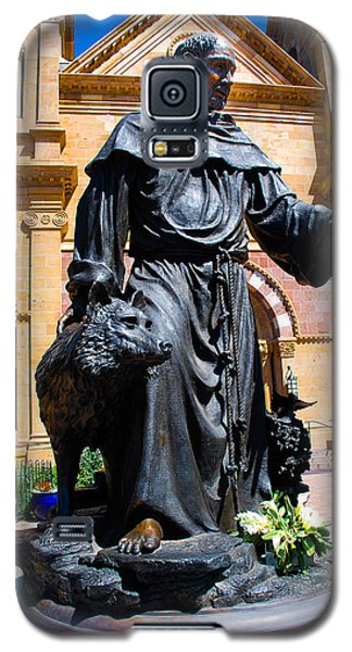 St Francis Of Assisi - Santa Fe Galaxy S5 Case by Dany Lison