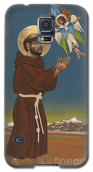 Galaxy S5 Case featuring the painting St. Francis Patron Of Colorado 186 by William Hart McNichols