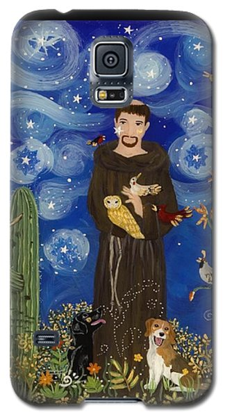 St. Francis Starry Night Galaxy S5 Case