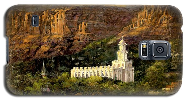 St. George Temple Red Hills Antique Galaxy S5 Case