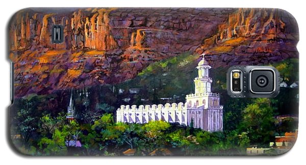 St. George Temple Red Hills Galaxy S5 Case