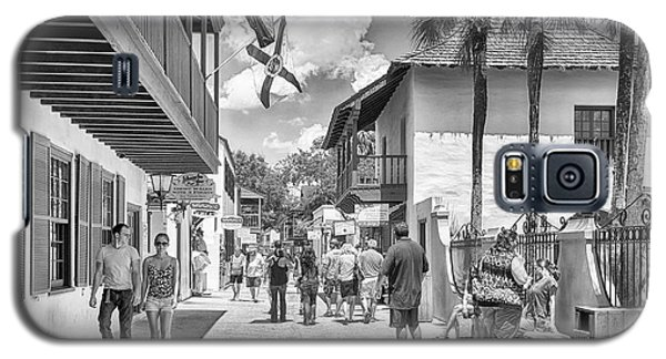 Galaxy S5 Case featuring the photograph St. Geroge Street by Howard Salmon