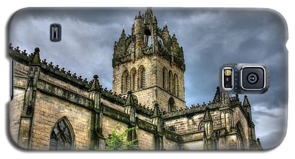 St Giles And Tree Galaxy S5 Case