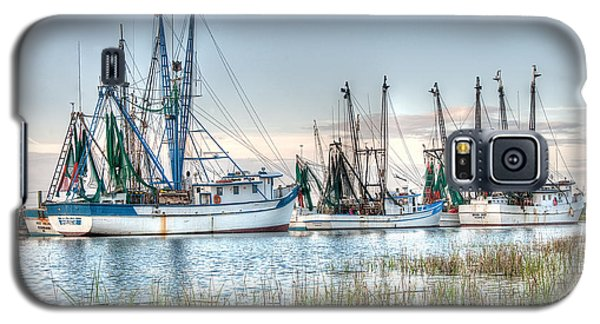 St. Helena Island Shrimp Boats Galaxy S5 Case
