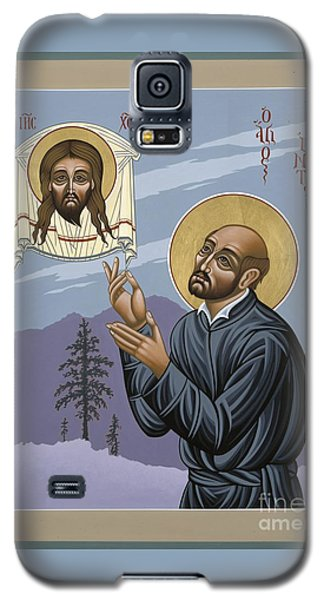 Galaxy S5 Case featuring the painting St. Ignatius Amidst Alaska 141 by William Hart McNichols