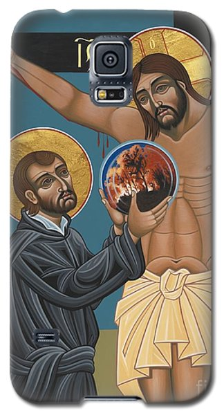 Galaxy S5 Case featuring the painting St. Ignatius And The Passion Of The World In The 21st Century 194 by William Hart McNichols