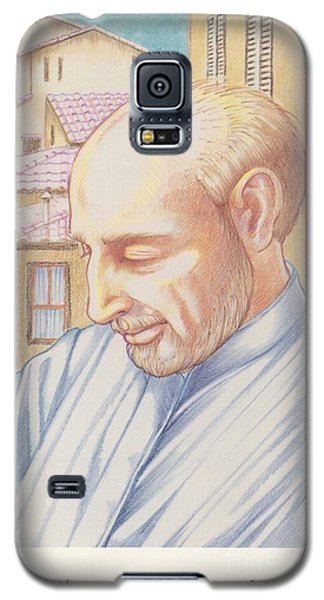 Galaxy S5 Case featuring the painting St. Ignatius At Prayer In Rome by William Hart McNichols