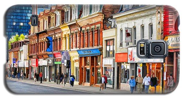 Yonge Street In Toronto Galaxy S5 Case