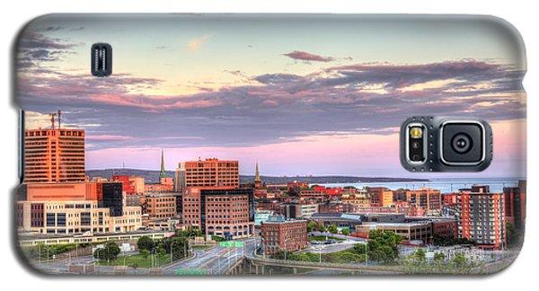 St. John's New Brunswick Sunset Skyline Galaxy S5 Case by Shawn Everhart