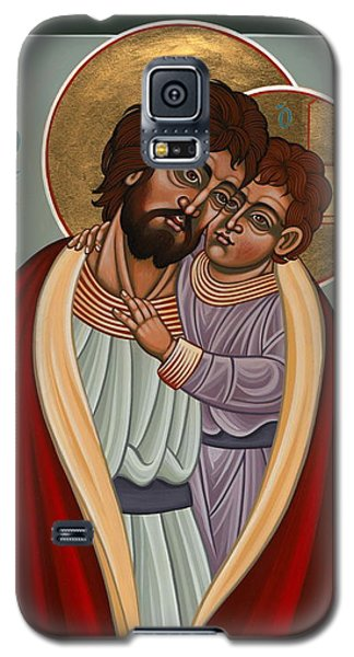St. Joseph And The Holy Child 239 Galaxy S5 Case by William Hart McNichols