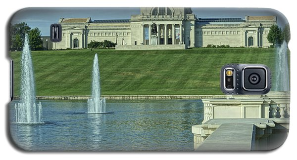 St Louis Art Museum And Grand Basin Galaxy S5 Case