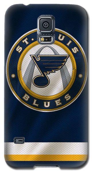 St Louis Blues Uniform Galaxy S5 Case by Joe Hamilton