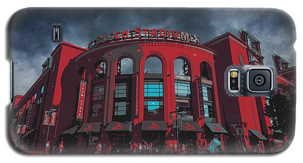 St. Louis Busch Stadium Cardinals 9162 Art Galaxy S5 Case