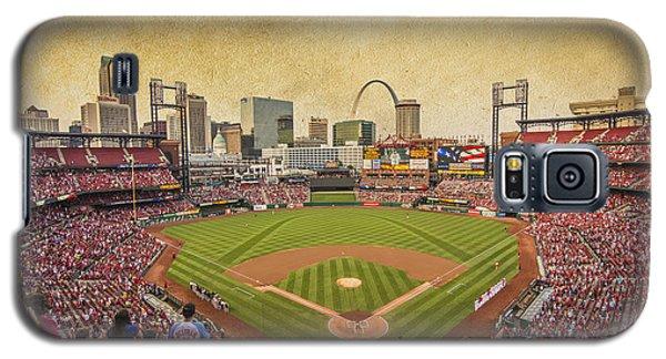 St. Louis Cardinals Busch Stadium Texture 9252 Galaxy S5 Case