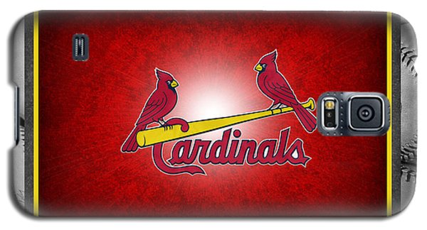 St Louis Cardinals Galaxy S5 Case by Joe Hamilton