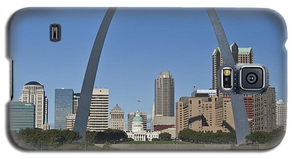 St Louis Skyline Galaxy S5 Case by Garry McMichael