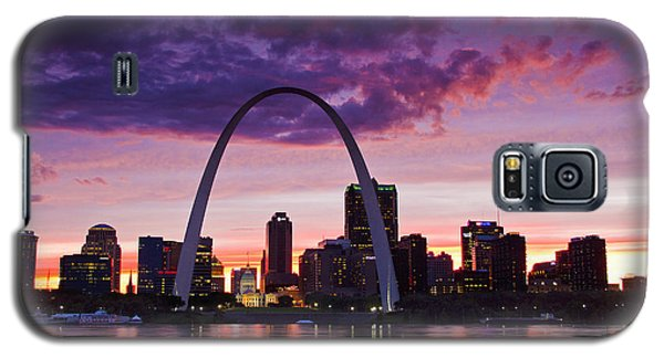 St Louis Sunset Galaxy S5 Case