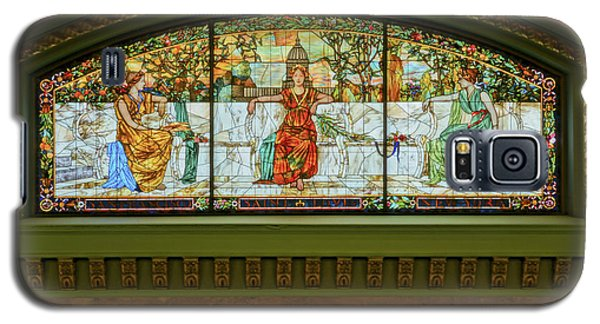 St Louis Union Station Allegorical Window Galaxy S5 Case by Greg Kluempers
