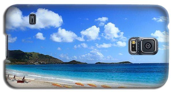 St. Maarten Calm Sea Galaxy S5 Case